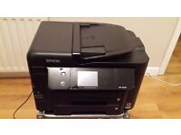 Epson WorkForce WF-3540 All-in-One Printer - with paper and ink