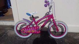 Girls 16 inch poly bike