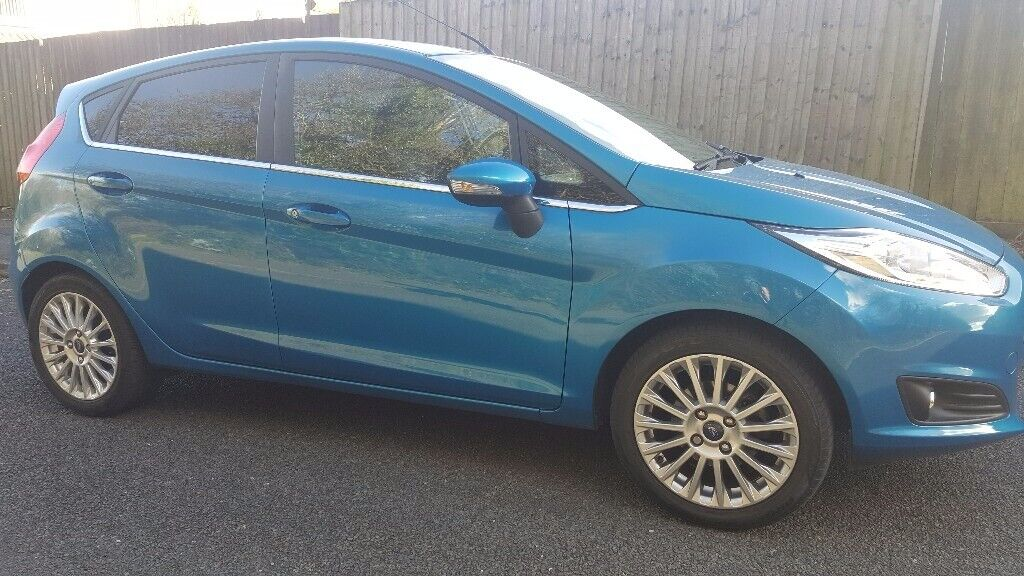Ford Fiesta Titanium, Hatchback, 2015, EcoBoost, 998 (cc), 5 doors
