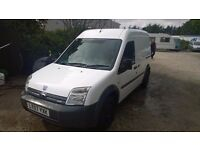 ford transit connect t230 lwb high top 2007-07-plate, 1800 cc turbo diesel,126,000 miles,