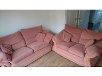 Free used DFS sofa, 3 and 2 seater