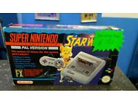 Snes starwing console