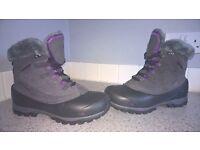 """Karrimor """"Snowfur 2 Weathertite"""" Waterproof boots UK 6 EUR 39"""