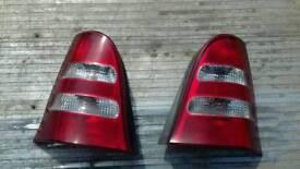 Mercedes a class rear lights