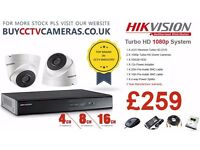 Hikvision 2 x Cameras CCTV System with 500GB HDD (TOP BRAND WITH 3 YEAR WARRANTY)