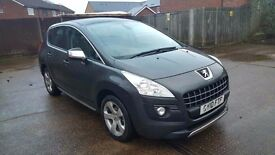 **Peugeot 3008 1.6 HDi FAP EXCLUSIVE**2010**LOW MILEAGE 36000**JUST BEEN SERVICED**BARGAIN**