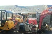Diggers,dumper, tractors plant wanted