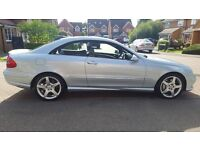 Mercedes Clk 220cdi Sport Coupe 2008 58 Low Mileage Full Mercedes Service History!