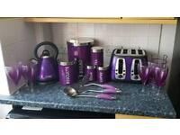 Purple kitchen essentials