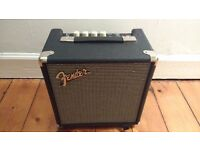 Fender Rumble 15 bass amp.