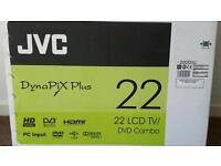 JVC LCD TV/DVD Combo