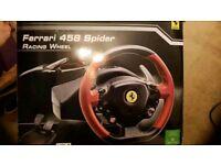 Ferrari game wheel