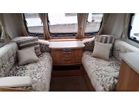 Lunar Clubman SI. Touring Caravan (2013) 4 Berth Fixed Island Bed - Great Used Family Van