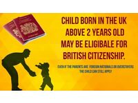 Child born in the UK may be eligible for British Citizenship, Even if parents are overstayer.