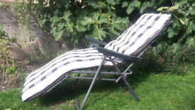 Comfy sunlounger