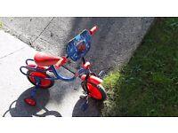 Kids Spiderman Bike With Stableisers