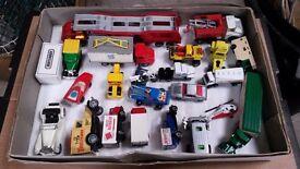 Vintage Matchbox model cars & trucks