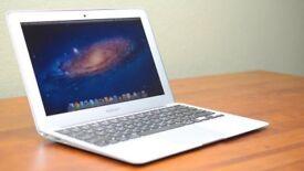 13' Apple MacBook Air 1.7Ghz i5 4Gb Ram 128GB SSD Final Cut Pro X Davinci Resolve Microsoft Office