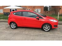 2014 Ford Fiesta 1.25 82 Zetec 3dr Petrol Hatchback. Great Condition!
