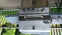 used grill chef stainless steel barbecue