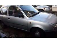 Nissan Micra 1996 for spares, new battery, good tyres, distributor