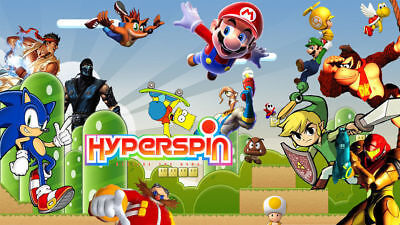 "HYPERSPIN 750GB 2.5"" HDD PORTABLE USB 3.0  FULL LAPTOP ARCADE MAME RETRO"