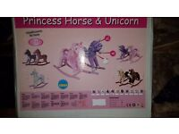Pink Princess Rocking Horse Brabd New in Box