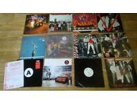 "12 x big audio dynamite vinyl collection - promos / sealed / LP's / 12"""