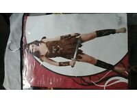 Gladiator Girl Fancy Dress Outfit