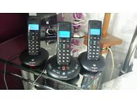 Triple house phone ( text or email )
