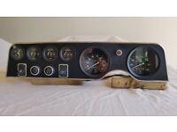 Fiat 124 Sport Coupe BC 1972 Instrument/Gauges Panel.