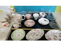 Collection of mixed Glassware & Crockery