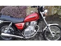 Original Beautiful classic suzuki gn 250 not rebuilt this bike is how it left the suzuki factory