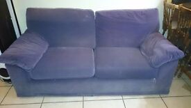 2 - 3 Seater fabric sofa
