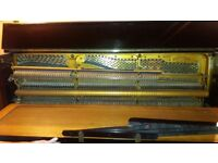 A beautiful old Bluthner upright piano. Good condition.