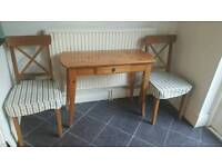 Pine kitchen table and chairs for sale