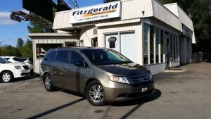 2011 Honda Odyssey EX-L w/RES - LEATHER! BACK-UP CAM! DVD!