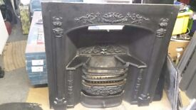 Cast Iron fire surround and grate