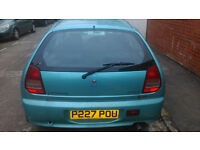 Mitsubishi Colt 1.3*Reliable*LongMOT*New batt*Lady owner*Service History*Metal Turquoise*OPEN2OFFERS