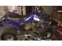 Large frame quad bike- 110cc semi auto w/ reverse gear