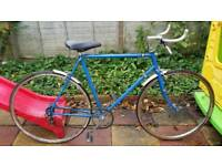 Vintage road racing bike