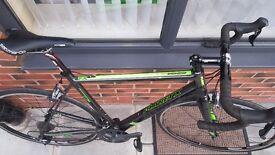 Planet X RT90 road bike, full shimano ultegra groupset. Full carbon fibre frame size large