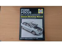 Haynes manual for MK2 Ford Focus.