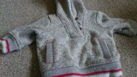 Baby boy jumper coat 0-3