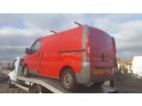 2007 57 nissan primstar swb mot until next year very good condition inside and out non runner