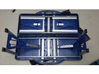 Camping bundle - folding picnic table, Camping Gaz camping chef stove, larder unit, folding chair