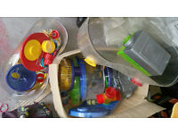 JOB LOT Rotastak Hamster Housing £20