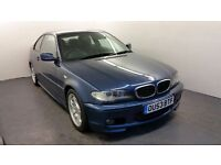 2003   BMW 318 CI M Sport Coupe   2 Former Keepers   HPI Clear   Parking Sensors