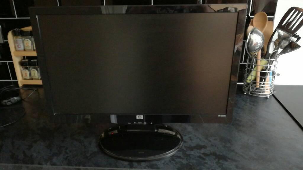 """HP 22"""" monitor."""