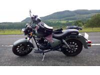 2015 Keeway Superlight 125cc Motorbike